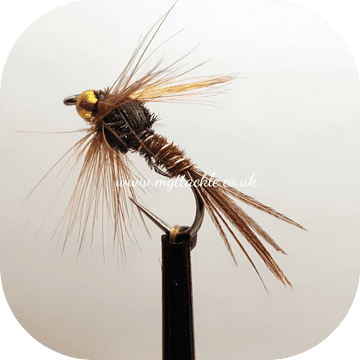 BARBLESS GOLD HEAD PHEASANT TAIL NYMPH