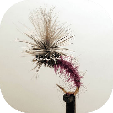CDC CLARET MINI KLINKHAMMER DRY  FLY