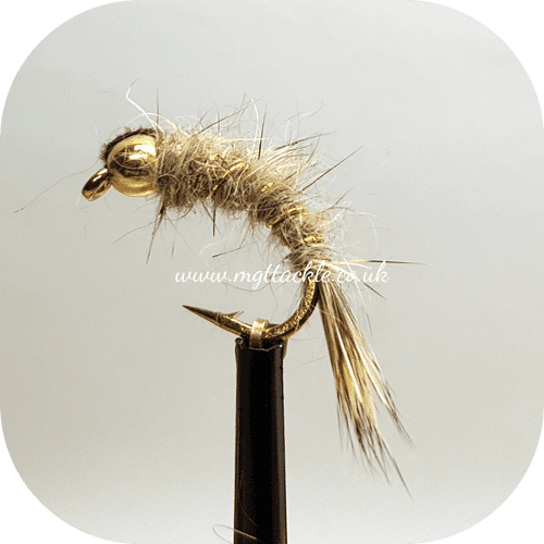 GOLD HEAD HARE'S EAR NYMPH  CURVED