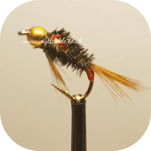 GOLD HEAD HOLOGRAPHIC RED CHEEK DIAWL BACH