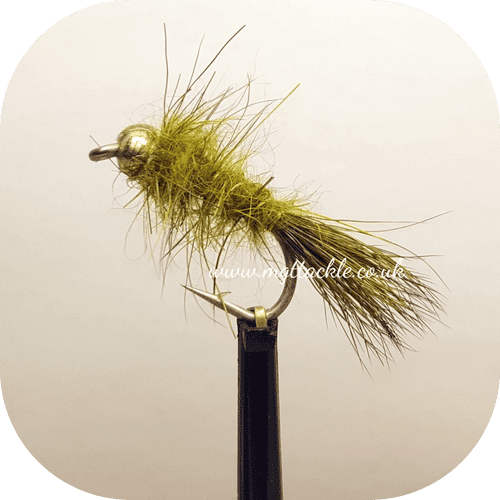 GOLD HEAD ROUGH OLIVE NYMPH