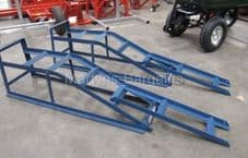 2 Tonne Cougar Car Ramps with Car ramp extensions for cars with low clearance.