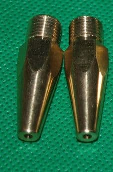 2 x Replacement Jets for Sand Blasting Pistol
