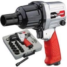 """Clarke 13pc ½"""" Twin Hammer Air Impact Wrench Kit CAT132"""