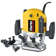 Clarke Contractor - 2100W Router & Kit with Dust Extraction (230V)