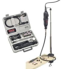 Clarke CRT40 - 40pce Rotary Tool Kit. DIY, Ideal for hobby and model enthusiasts
