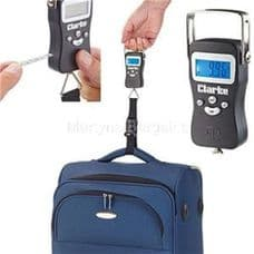 Clarke Digital Luggage Scale Suitable for weights from 40g to 50kg CHT735