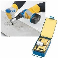 Clarke Double Headed Metal Nibbler, Fits to any electric or power drill.