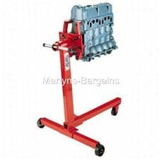 Clarke Mechanics Engine Stand 450kg Weight Capacity. Clarke Stand for Engines