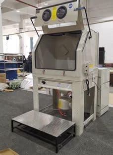 Cream PSBC990 Pressure Cabinet with Cyclone Dust Collector