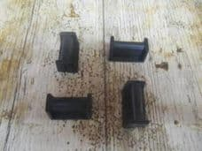 Four Rubber Mounts For a Pressure Washer Fuel Tank.