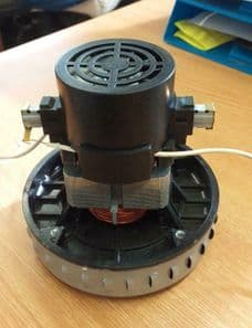 Replacement Motor for Small Mattis Dust Extractor. DC15 Dust Collector Motor.
