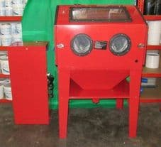 SBC350 Cabinet Complete With Stand Alone Dust Extractor