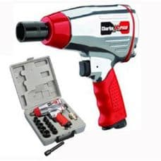 """X-Pro CAT142. 13 Piece ½"""" Twin Hammer Compact Air Impact Wrench Kit.Clarke"""