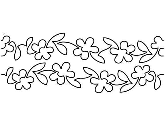 Flowers on Parade Groovy Board