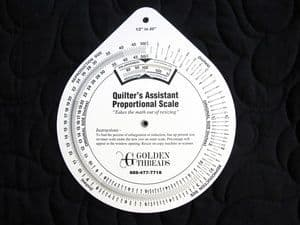 Quilters Proportional Scale