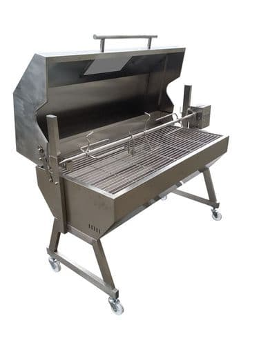 Hooded Spartan Stainless Roaster 1200mm