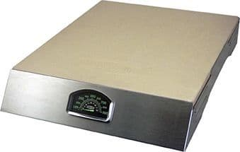 Pizza Stone w/Stainless Steel Rack