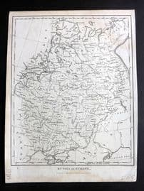 Wilkes & Neele 1826 Antique Map. Russia in Europe.