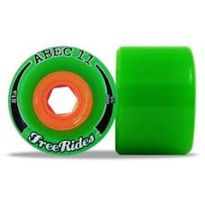 ABEC 11 - CLASSIC FREERIDES - GREEN - 66/78A - (pack of 4)
