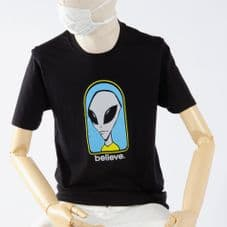 Alien Workshop T Shirt Believe - Black - Large Adult