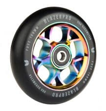 Blazer Pro Scooter Wheel Fuse 100mm W/Abec 11 Neo Chrome 100 MM (single wheel)