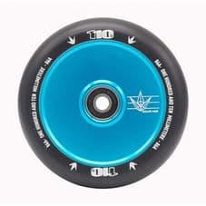 BLUNT 110MM HOLLOWCORE  SCOOTER WHEEL Teal\Black