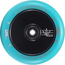 BLUNT 110MM HOLLOWCORE  SCOOTER WHEELBlack\Teal