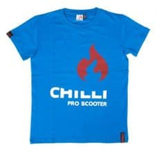 Chill Pro Scooter T Shirt - Blue - eXtra Large Adult