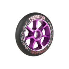 Chopsticks Scooter Wheel Sushi Rolls 110mm  - Black/Purple (single wheel)