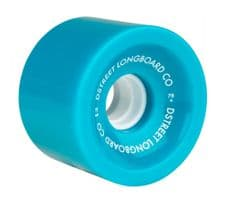 D Street Wheels Hawaiian 70mm 78a Blue (pack of 4)