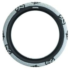 "Federal Command LP Tyre - Grey With Black Logos 20"" x 2.40"" (single)"