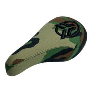 Federal Mid Stealth Logo Seat - Camo With Raised Black Embroidery