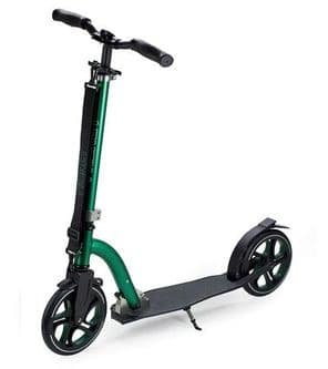 FRENZY 215MM RECREATIONAL SCOOTER - GREEN/BLACK