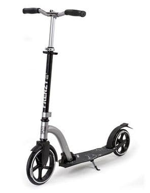FRENZY 230MM V2 RECREATIONAL SCOOTER - BLACK/SILVER