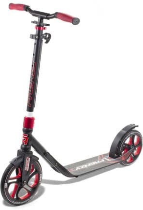 FRENZY 250MM RECREATIONAL SCOOTER - BLACK/RED