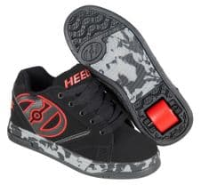 Heelys Propel 2 Black/Red/Confetti- Size UK 6