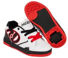 Heelys Propel 2 White/Black/Red - Size UK 6