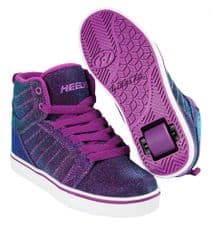 Heelys Uptown Purple-Aqua Colourshift - Size UK 5