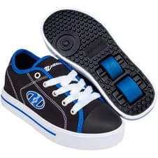 Heelys X2 Classic Black/White/Blue - Size Junior UK 12