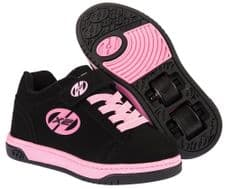 Heelys X2 Dual Up Black/Pink - Size UK 3