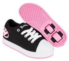 Heelys X2 Fresh Black/Pink - Size Junior UK 12