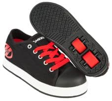 Heelys X2 Fresh Black/Red - Size Junior UK 13