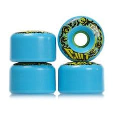 Lush Longboards Cult Classic 80A 70MM Mystothane Longboard Wheels Blue (pack of 4)