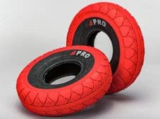 MINI ROCKER STREET PRO TYRES RED/BLACKWALLS