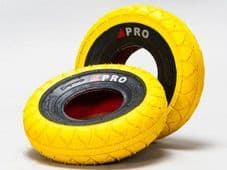 MINI ROCKER STREET PRO TYRES YELLOW/BLACKWALLS