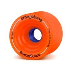 Orangatang In Heat 75mm 80a Orange Longboard Wheels (pack of 4)