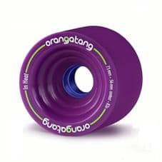 Orangatang In Heat 75mm 83a Purple Longboard Wheels (pack of 4)