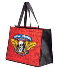 Powell Peralta Bag Winged Ripper Red Shopping Bag