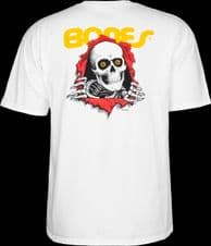 Powell Peralta Ripper T-shirt - White - eXtra Large Adult